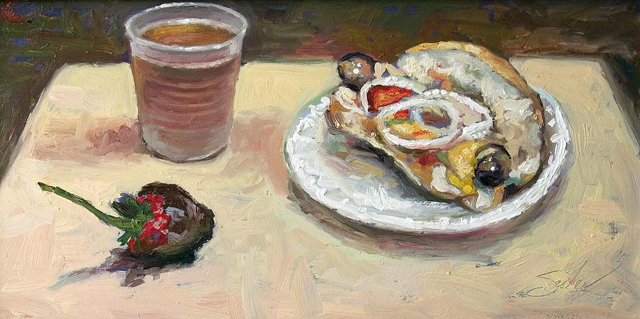 Still Life Painting - Festival Food by Larry Seiler