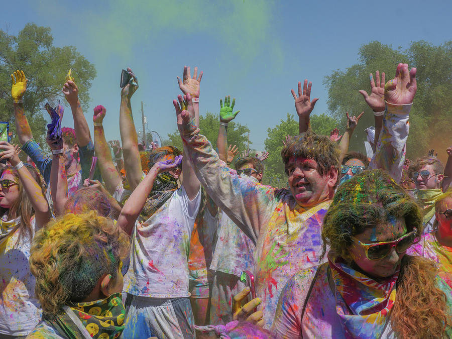 Festival Of Color Photograph by Billy Joe