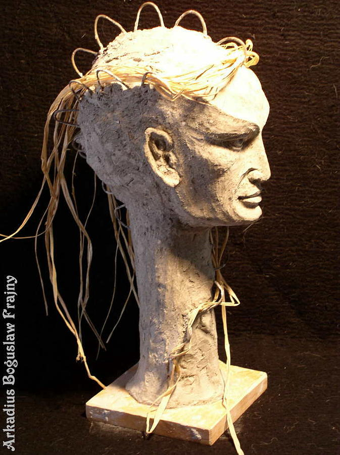 Head Sculpture - Festrede by Frajny Arkadius Boguslaw