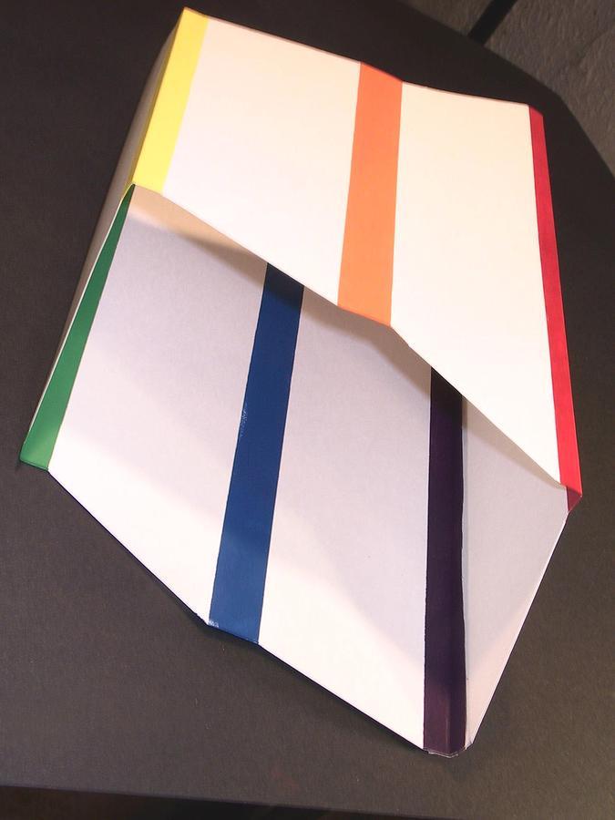 Color Prism Sculpture - Fetherstons Color Prism by Dominic Fetherston
