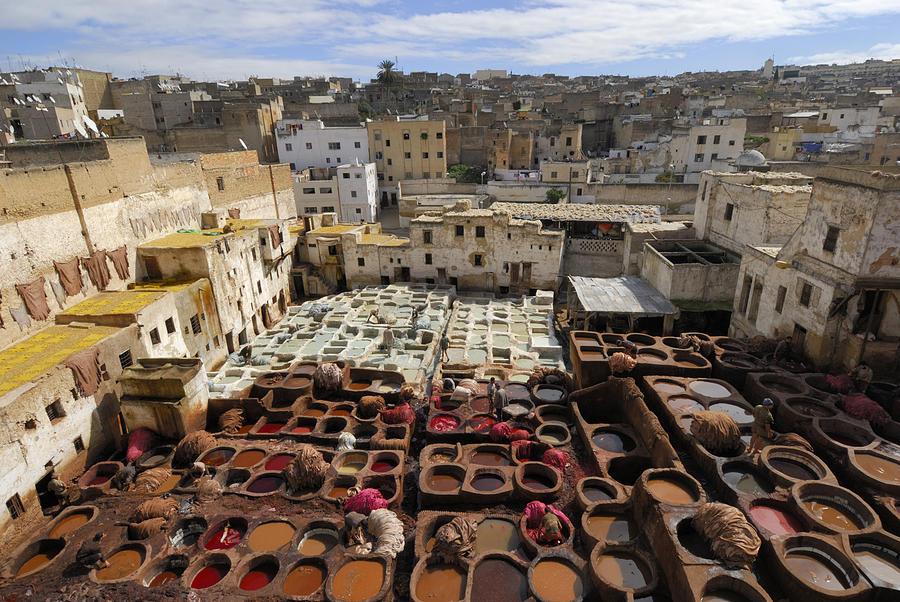 Morocco Photograph - Fez Morocco by Liz Pinchen
