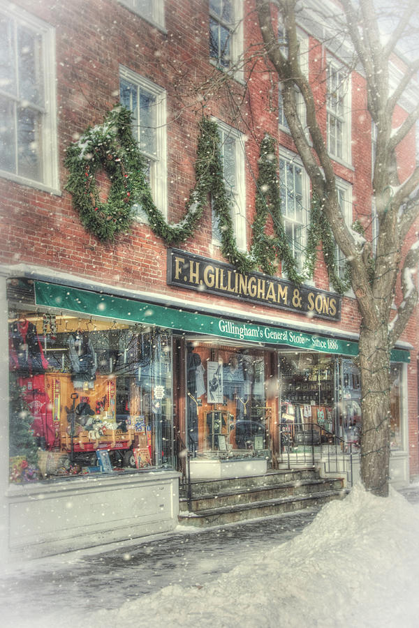 F.H. Gillingham and Sons - Vermont General Store by Joann Vitali