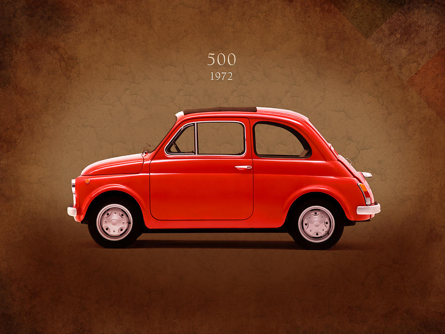 Fiat 500 R 1972 By Mark Rogan