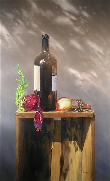 Still Life Painting - Fibonacci by Paulo Jimenez