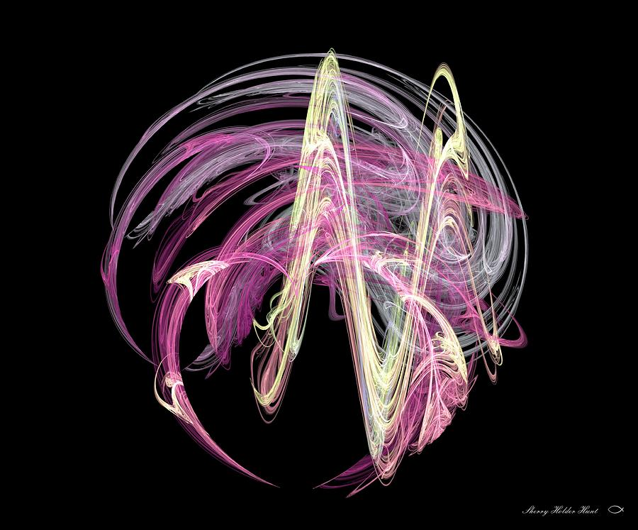 Abstract Digital Art - Fickle by Sherry Holder Hunt