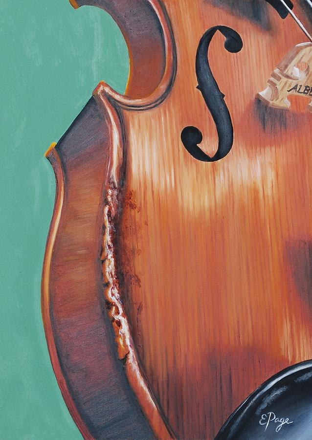 Fiddle Painting - Fiddle IIi by Emily Page