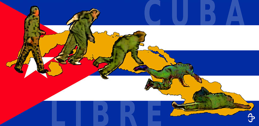 Fidel's Fall by Andre Peraza