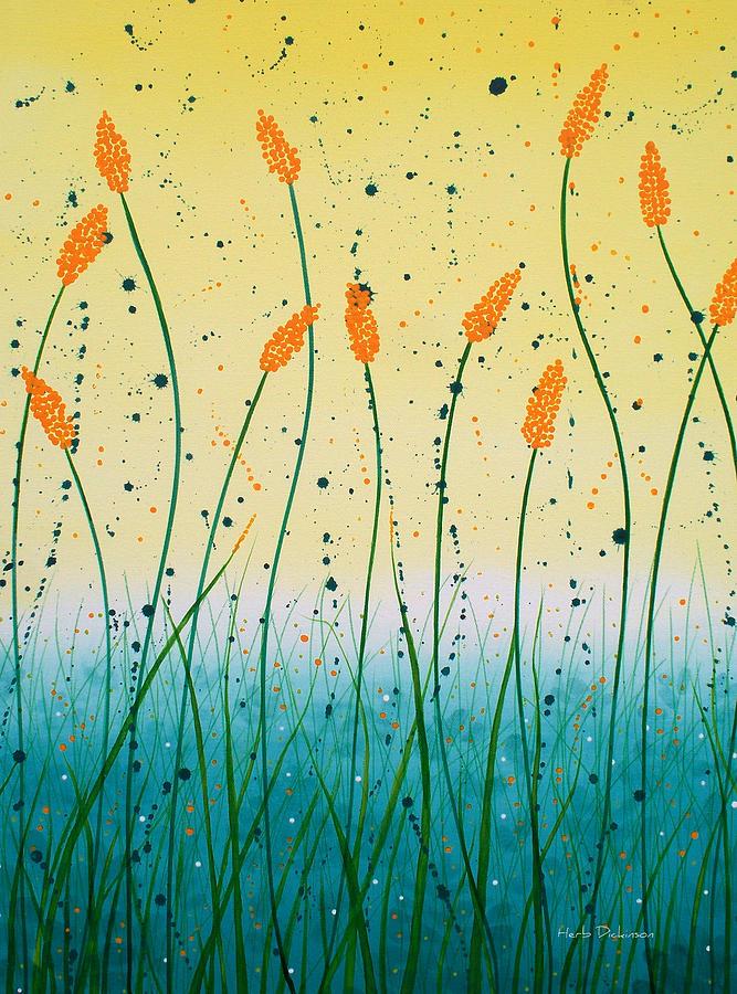 FIELD FLOWERS by Herb Dickinson