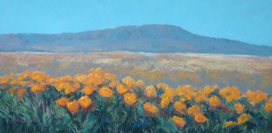 Flowers Pastel - Field Of Dreams by Debra Mickelson