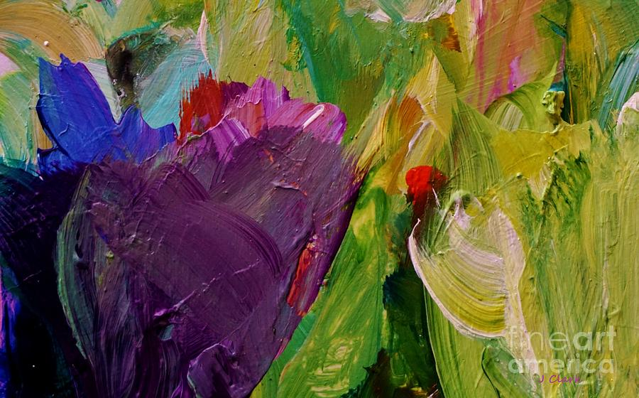 Abstract Painting - Field Of Dreams by John Clark