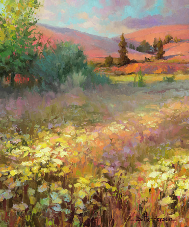 Country Painting - Field of Dreams by Steve Henderson