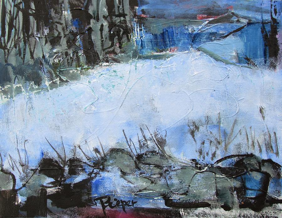 Fields in Snow by Betty Pieper