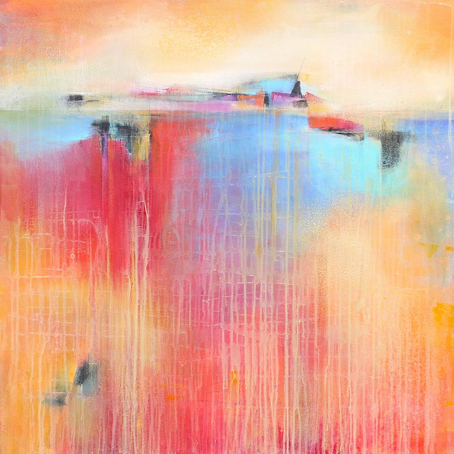 abstract painting fields of color by karen hale - Fields Of Color