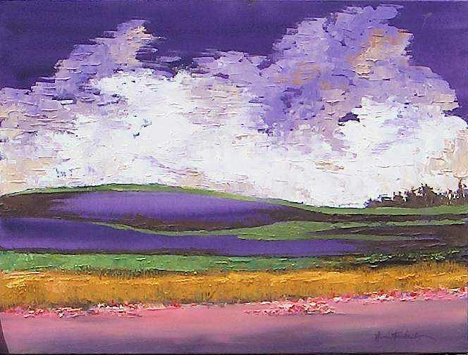 Painting Painting - Fields Of Hope by Stan  Sternbach