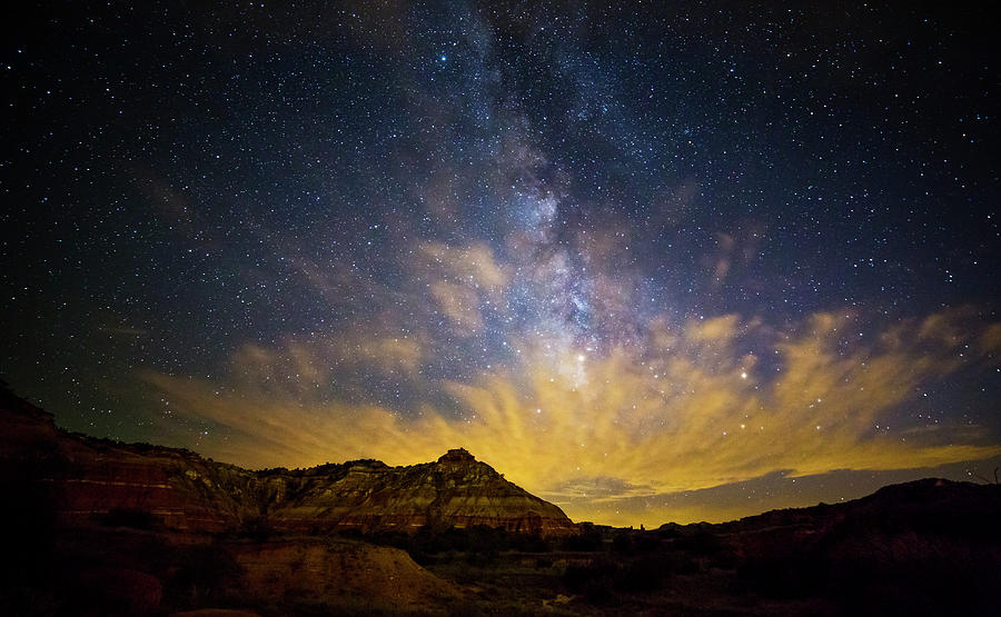 Texas Photograph - Fiery Night In Palo Duro by Stephen Stookey