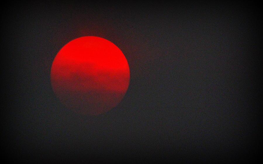 fiery sun by AJ Schibig