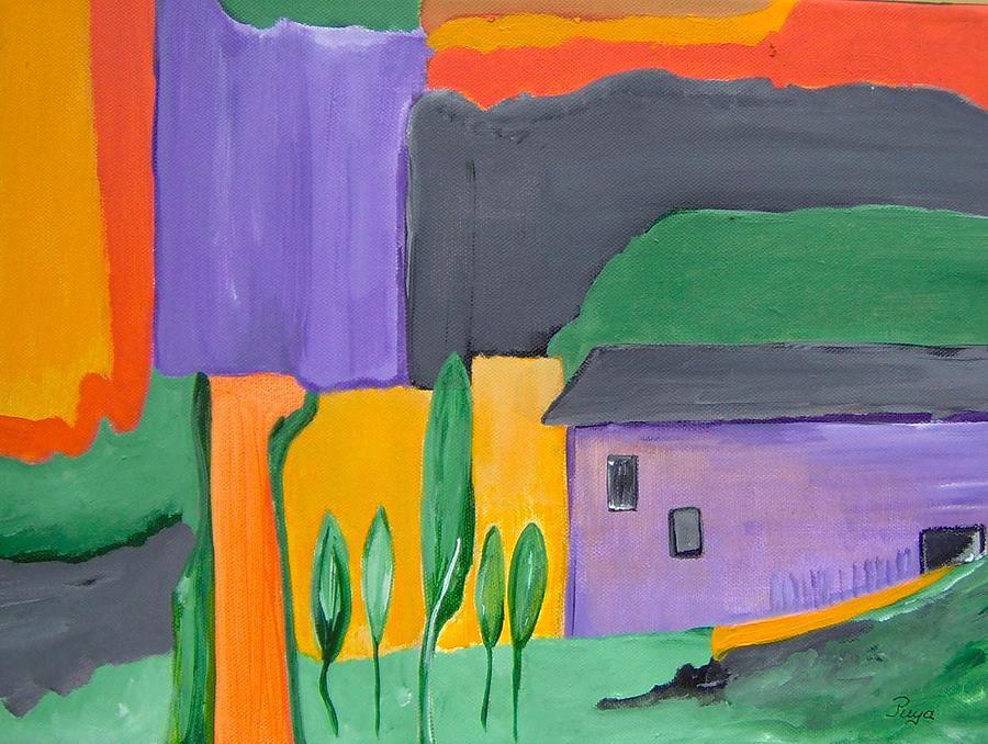 Tuscany Painting - Fiesole Toscana by Michael Puya