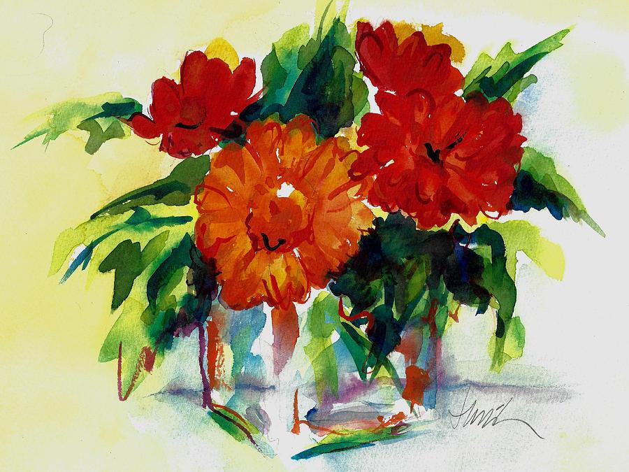 Fiesta Painting by Jacki Kellum
