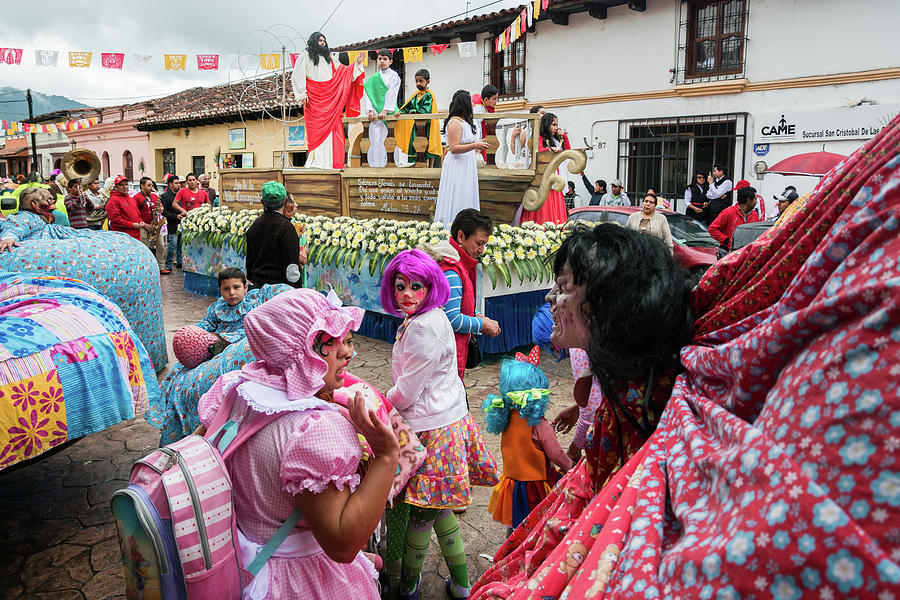 Mexico Photograph - Fiesta of Our Lady of Mercy, Mexico by Dane Strom