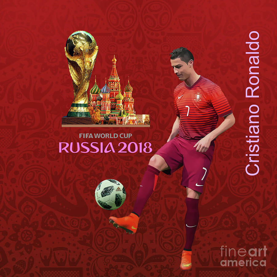 Messi Painting - Fifa World Cup Russia 1 by Gull G