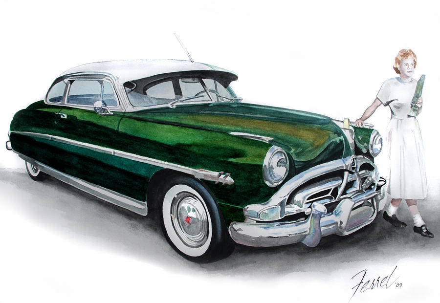 Car Painting - Fifty-one Hudson by Ferrel Cordle