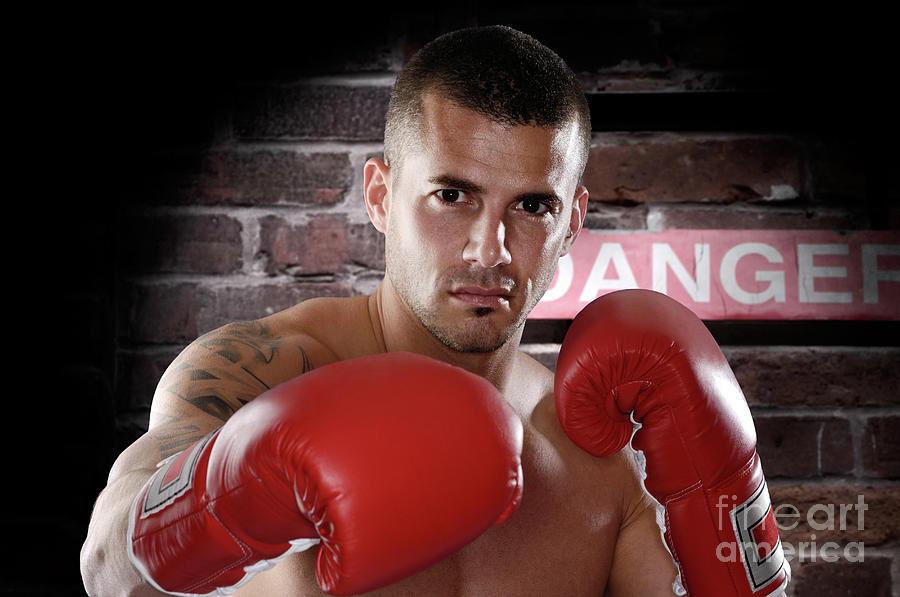 Kickboxer Photograph - Fighter by Oleksiy Maksymenko