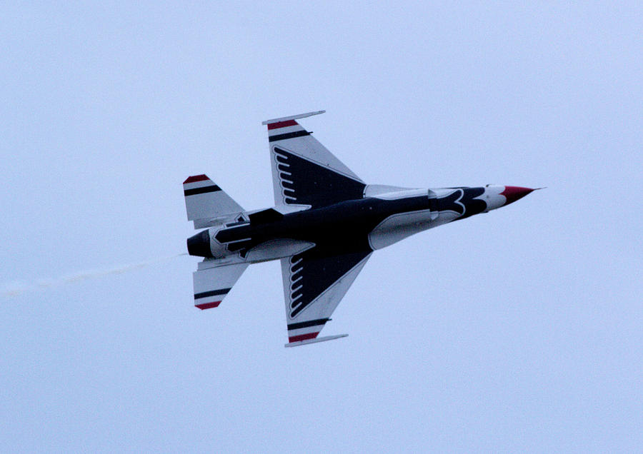 Thunderbird Photograph - Fighting Falcon by April Wietrecki Green