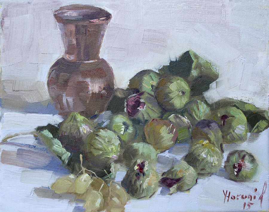 Figs Painting - Figs by Ylli Haruni