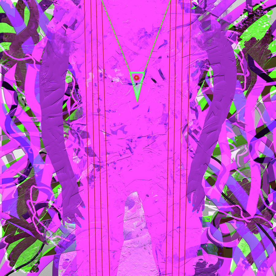 Abstract Digital Art - Figuartively by SC Heffner