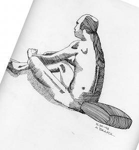 Figure 3 Drawing by M Brandl