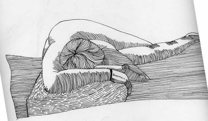 Figure Drawing - Figure1.5 by M Brandl
