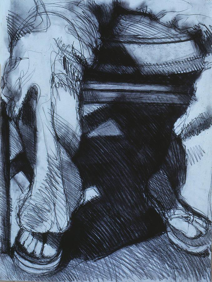Figure Drawing Drawing - Figure21 by Jeffrey Babine