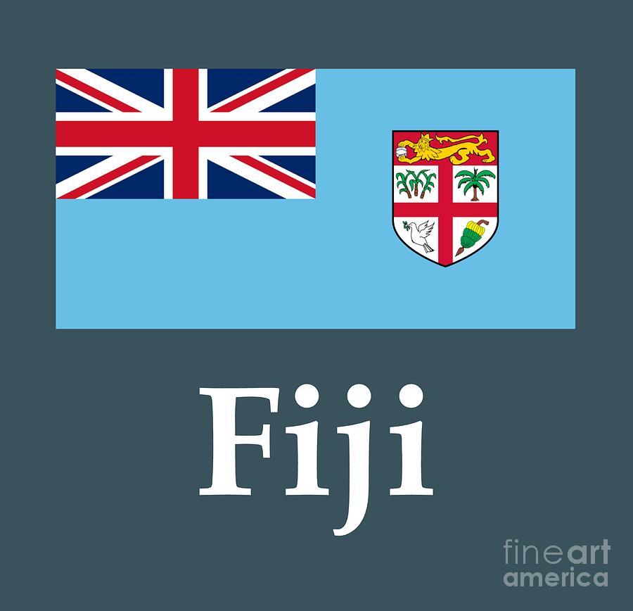 Fiji Flag And Name
