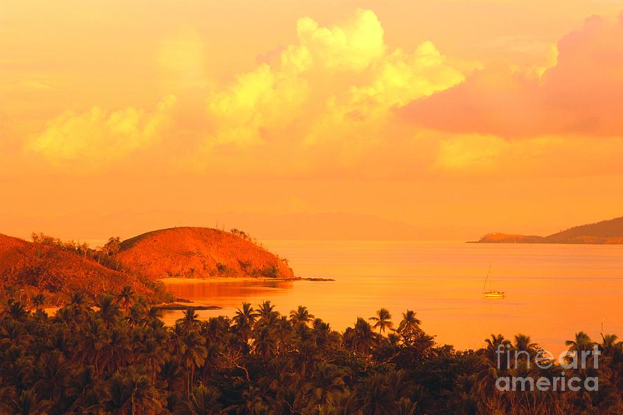 Amaze Photograph - Fiji Mana Island by Dave Fleetham - Printscapes