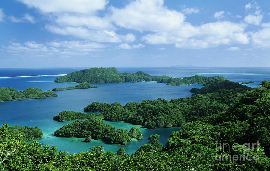 Aerial Photograph - Fiji Vanua Balavu by Larry Dale Gordon - Printscapes