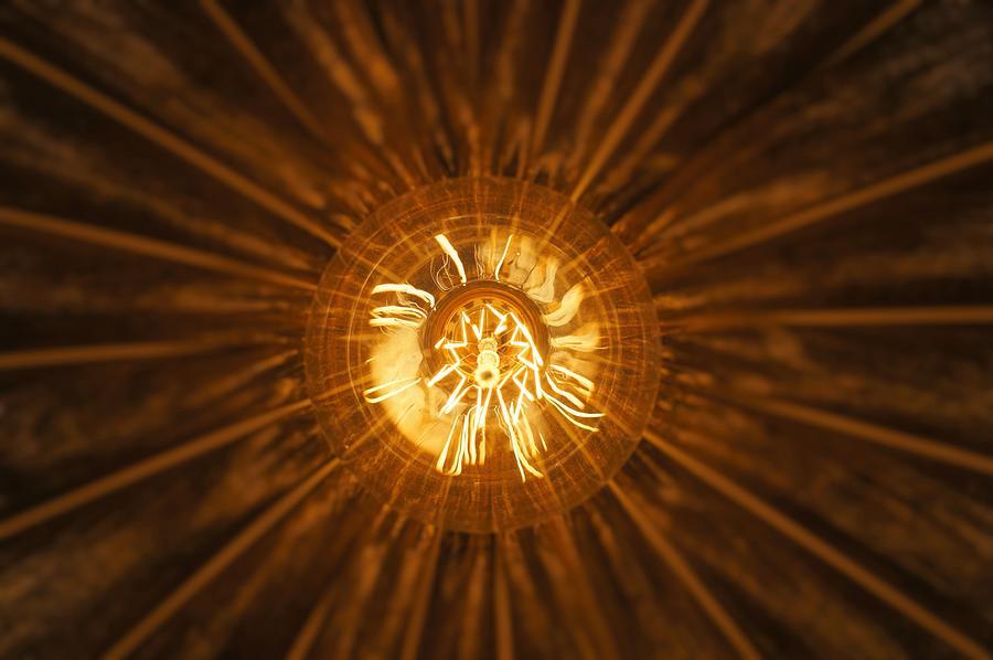Filament Photograph - Filament by Christian Trajkovski