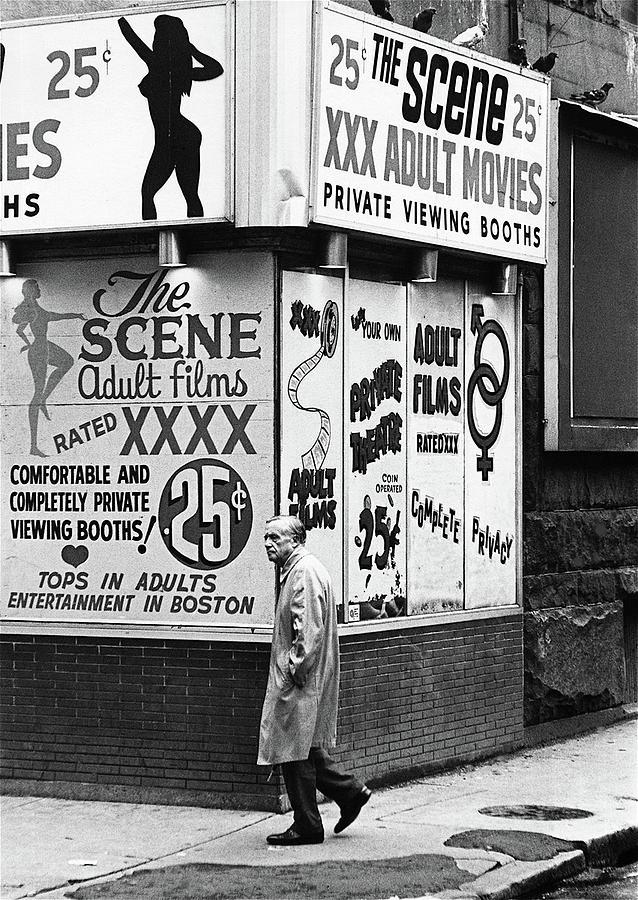 Film Homage Hard Core 1979 Porn Theater The Combat Zone Boston Massachusetts 197 Photograph by David Lee Guss