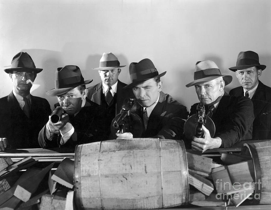 Gangster Photograph - Film Still: Gangsters by Granger
