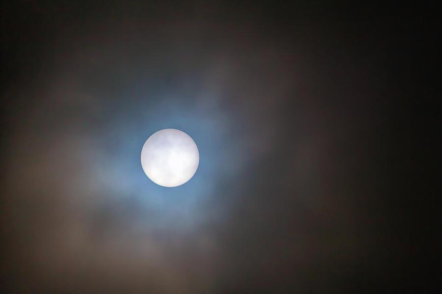 Sun Photograph - Filtered Sun by David Gn