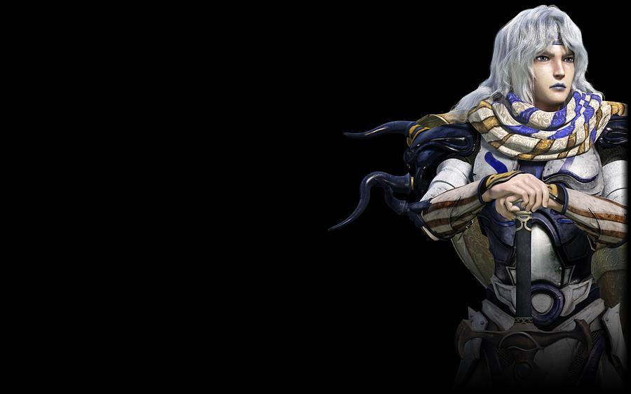 Black Digital Art - Final Fantasy Iv The After Years by Dorothy Binder