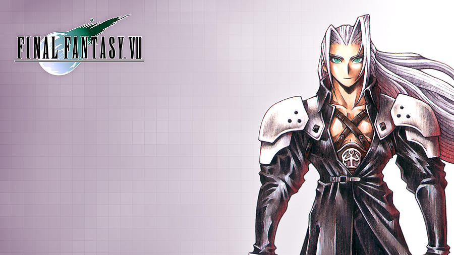 Final Fantasy Vii Digital Art - Final Fantasy Vii by Dorothy Binder
