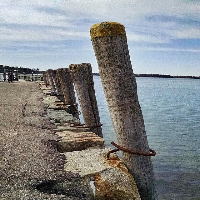 Docks Photograph - On the Docks by Melissa Yosua-Davis