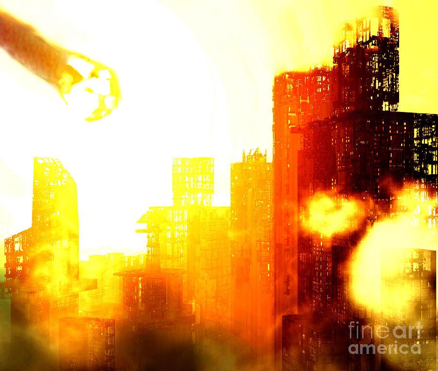 Impact Digital Art - Final Strike by Richard Rizzo