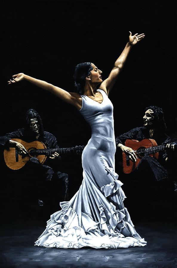 Finale Del Funcionamiento Del Flamenco Painting