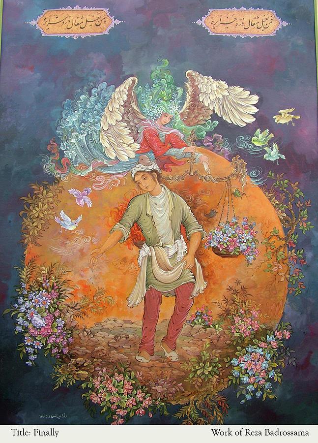 Finally Painting by Reza Badrossama