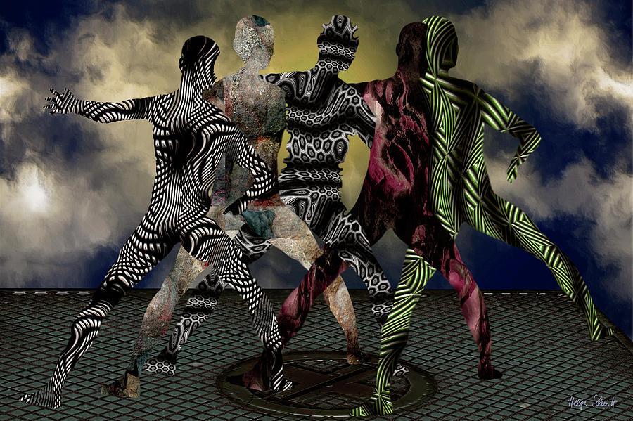 Surreal Digital Art - Finals by Helga Schmitt