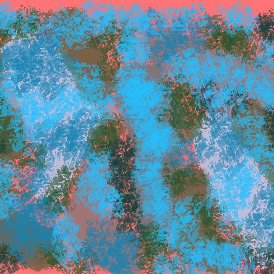 Blue Digital Art - Find Me Fierce by Joan Ellen Gandy