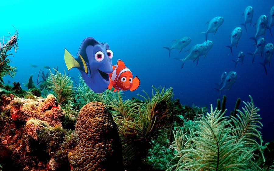 Finding Nemo Digital Art - Finding Nemo by Dorothy Binder