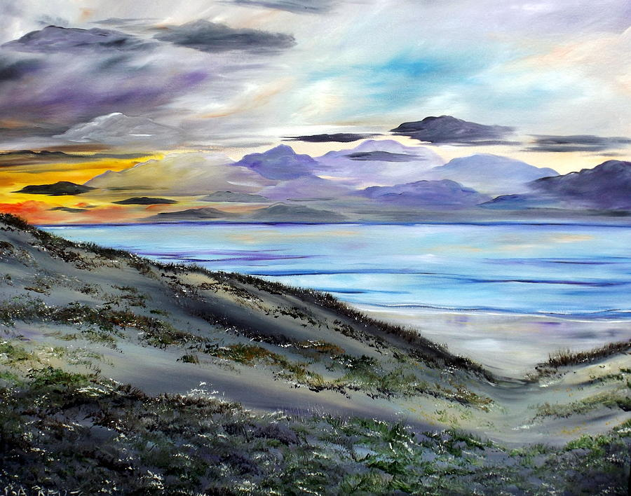 Seascape Painting - Finding The Treasure by Lisa Aerts