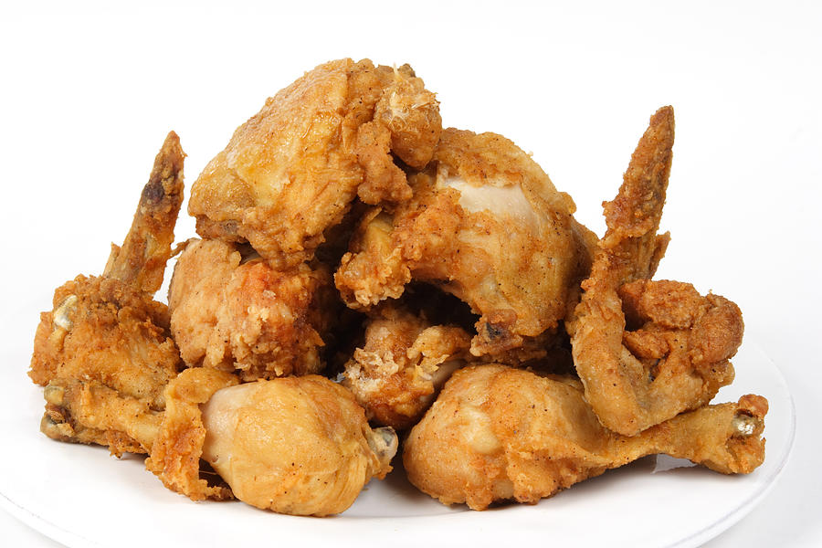 Food Photograph - Fine Art Fried Chicken Food Photography by James BO  Insogna